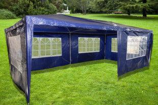 5 seinaga aiapaviljon ZRG010-A, 600x300 cm, sinine