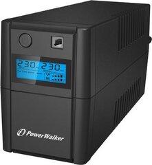 PowerWalker VI650SELCD-SCHUKO