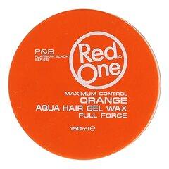 Tugev fikseeriv juuksevaha Red One Aqua 150 ml, Orange