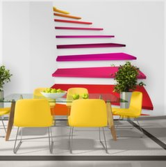 Fototapeet - Colorful stairs