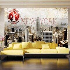 Fototapeet - New York - POST AGE STAMP
