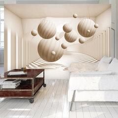 Fototapeet - Beige Balls hind ja info | Fototapeedid | kaup24.ee