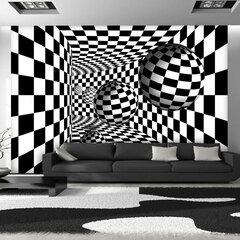 Fototapeet - Black & White Corridor