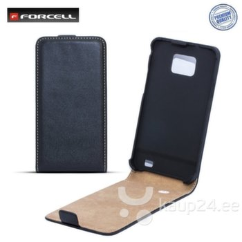 Kaitseümbris Forcell Slim Flip Case Samsung Galaxy Ace 3 S7270, Must