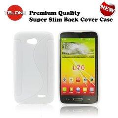 Telone Back Case S-Case силиконовый чехол LG L65 D280 D320 L70 Белый