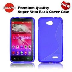 Telone Back Case S-Case силиконовый чехол LG L65 D280 D320 L70 Синий