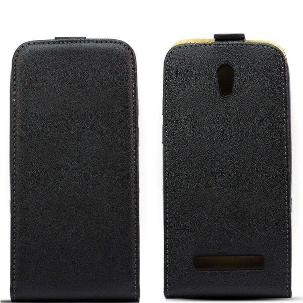 Telefonikate Telone Shine Pocket Slim Flip sobib Sony Xperia Z2, must