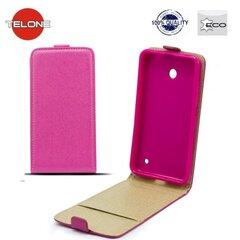 Kaitseümbris Telone Shine Pocket Slim Flip Case LG L90 D405, Roosa