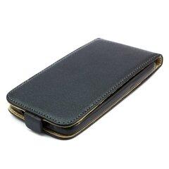 Kaitseümbris Telone Shine Pocket Slim Flip / Sony Xperia M2, Must