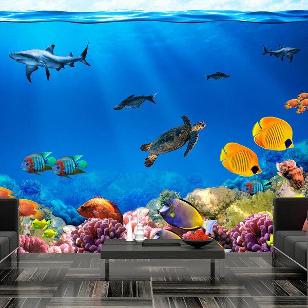 Fototapeet - Underwater kingdom