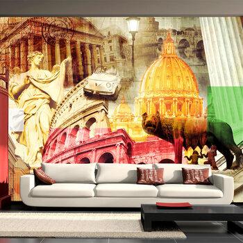 Fototapeet - Rome - collage