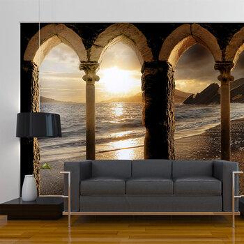 Fototapeet - Castle on the beach
