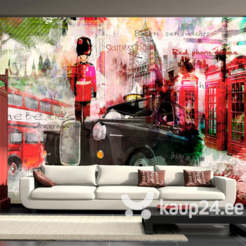 Fototapeet - Streets of London