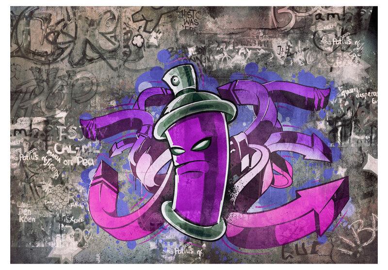Fototapeet - Graffiti spray can