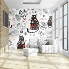 Fototapeet - Cats in love