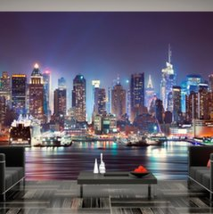 Fototapeet - Night in New York City