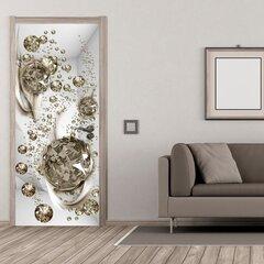 Fototaustapilt uksele - Photo wallpaper - Bubble abstraction I hind ja info | Fototapeedid | kaup24.ee