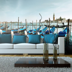 XXL fototapeet - Gondolas on the Grand Canal, Venice