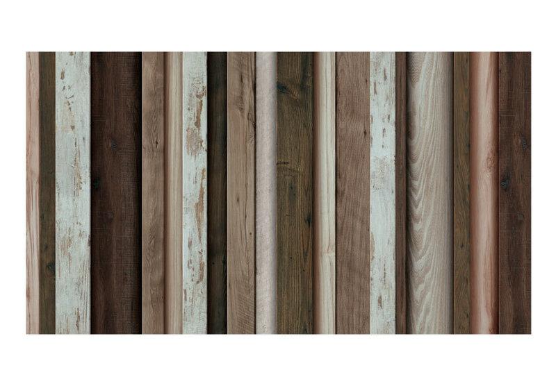 XXL fototapeet - Wooden Fan tagasiside