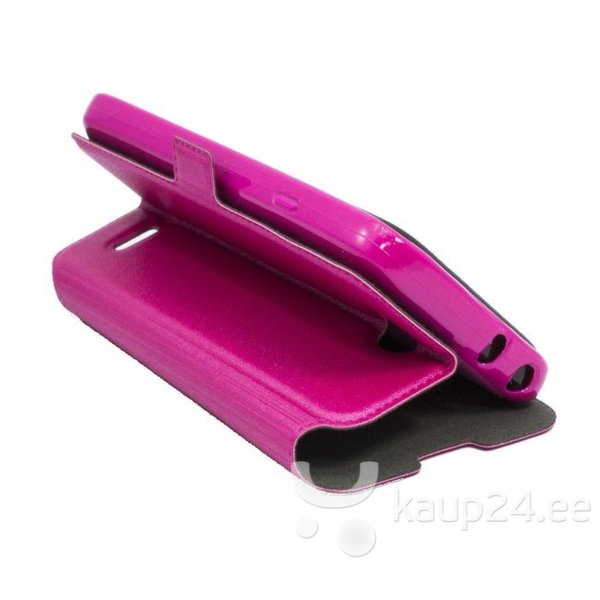 Kaitseümbris Telone Super Slim Shine Book Samsung Galaxy S4 i9500, Roosa