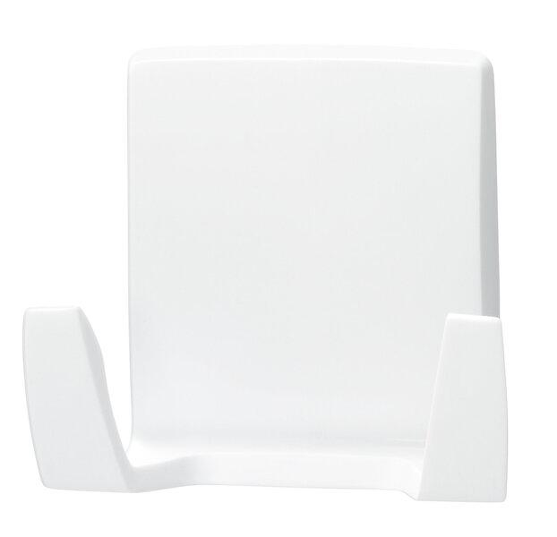 Tesa hoidja kahe konksuga PowerStrips Waterproof Wave, valge, 1tk. hind