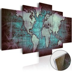 Akrüülprintimine - Acrylic prints – Bronze map II