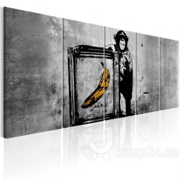 Maal - Banksy: Monkey with Frame