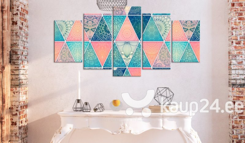 Maal - Oriental Triangles (5 Parts) Wide