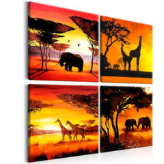 Maal - African Animals (4 Parts)