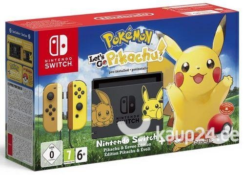 Mängukonsool Nintendo Switch Mängud Pokemon Let S Go