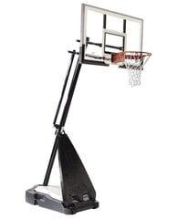 "Mobiilne korvpallilaud alusega Spalding NBA Ultimate Hybrid 54"" Glass"