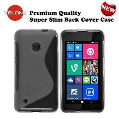 Telone Back Case S-Case силиконовый чехол Nokia 530 Lumia Прозрачный