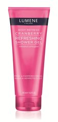 Dušigeel Lumene Body Refresh Cranberry 200 ml