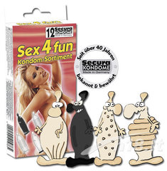 Kondoomid Secura Sex4fun, 12 tükki