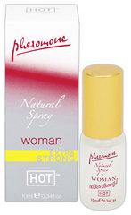 Feromoonidega parfüüm naistele HOT Natural Spray 10 ml   hind ja info | Feromoonid | kaup24.ee