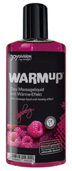 Massaažiõli Warm up Raspberry Joy Division 150 ml