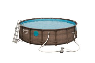 Karkassiga bassein Bestway Power Steel Swim Vista, 4,88 m