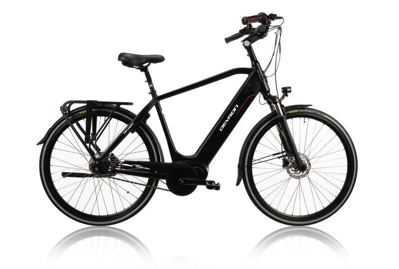Электрический велосипед Devron 28427-530 28'', черный
