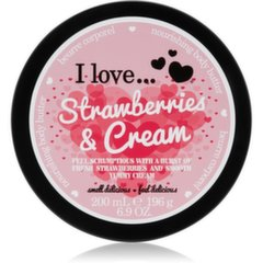 Toitev kehavõi I Love... Strawberries & Cream 200 ml