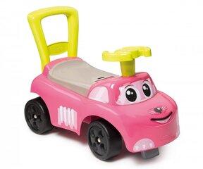 Pealeistutav auto Smoby Auto Pink Ride-on hind ja info | Imikute mänguasjad | kaup24.ee