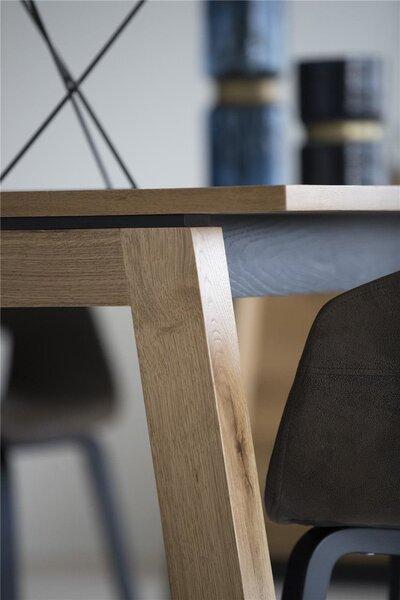Laud Dallas, 200 x 100 cm, pruun tagasiside