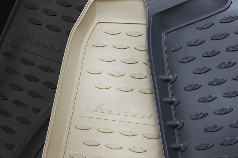 Kummist matid 3D FORD Kuga 2013->, 4pcs. /L19023G /gray