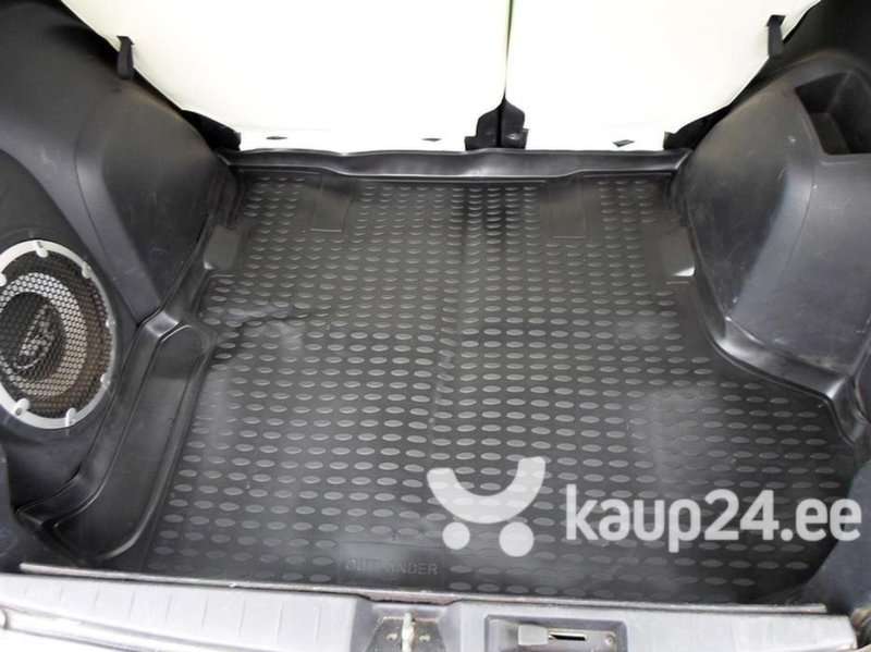 Kummist pagasiruumi matt MITSUBISHI Outlander XL 2005-2012 (with subwoofer) black /N27025