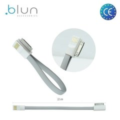 Blune kaabel Apple iPhone 4 4S 20cm