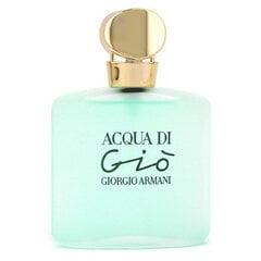Tualettvesi Giorgio Armani Acqua di Gio EDT naistele 50 ml