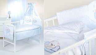Laste voodipesukomplekt 2-osaline, mõmmid mummulisel taustal hind ja info | Voodipesu lastele ja imikutele | kaup24.ee