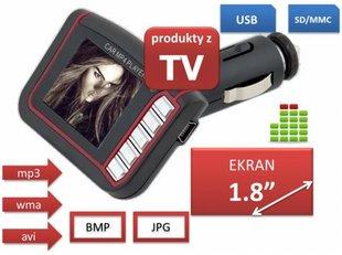 Autode MP3 FM modulaator WMA AVI MP4 SD / MMC