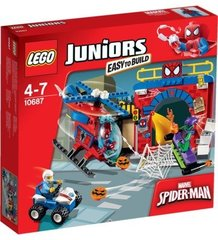 10687 LEGO® JUNIORS Spider-Man Hideout