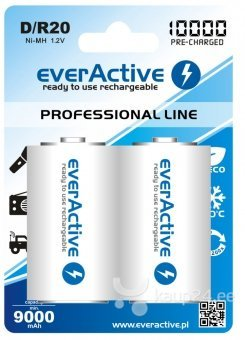 "everActive D ""Ready to Use"" patareid"