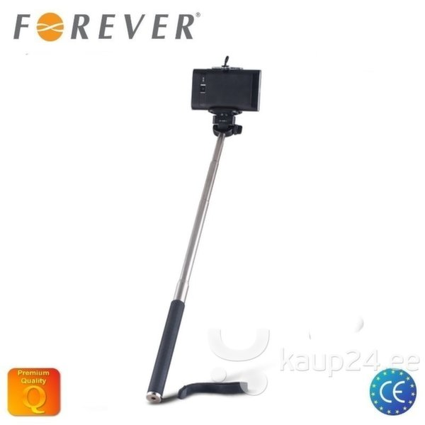 Selfie Stick Forever MP-300 95cm, Must